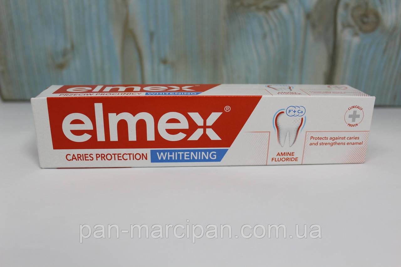 Зубна паста Elmex відбілююча + захист від карієсу 75 ml Польща