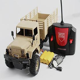 Модель повнопривідного військового вантажівки на р/у 3.7 V в масштабі 1/16. XOH TOYS 869-66 А-1