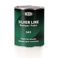 Фарба для бампера Mixon Silver Line Bumper Paint 341. 0,8 л. Чорна