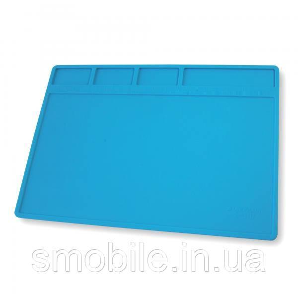 Килимок органайзер на робочий стіл S-110 280*200 мм (силіконовий, антистатичний, термостійкий)