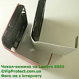 Lenovo S660 білий чохол-книжка на телефон, фото 6