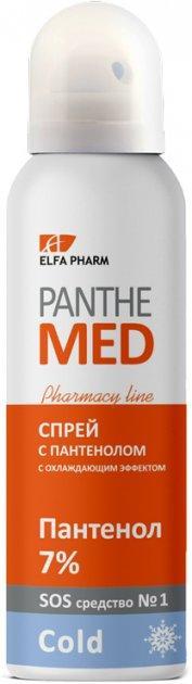 Спрей с пантенолом с охлаждающим эффектом 150мл Panthe Med