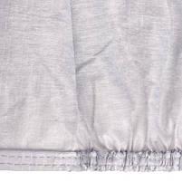 Тент автом. CC13401  M серый с подкладкой PEVA+PP Cotton/432х165х119 к.з. (CC13401-M), фото 5