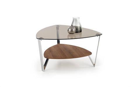 Журнальний стіл OPRAH 80х80х43 горіх (Halmar), фото 2