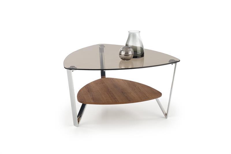 Журнальний стіл OPRAH 80х80х43 горіх (Halmar)