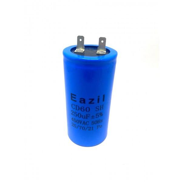 Конденсатор пусковой для электродвигателя Eazil CD60 250 uF мкФ 450V
