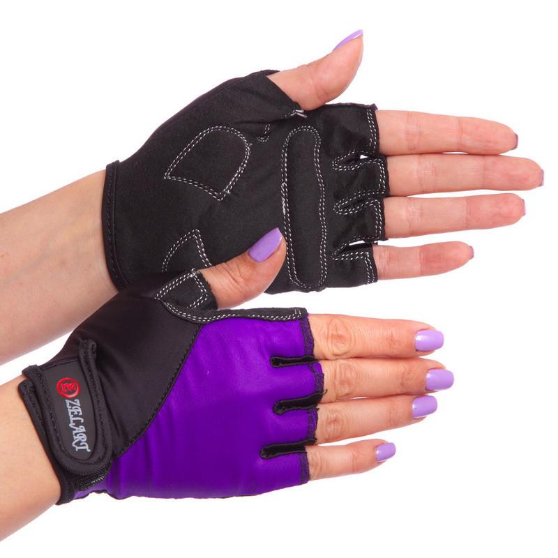 Перчатки для фитнеса женские Zelart 3787, размер S (16-18 см)