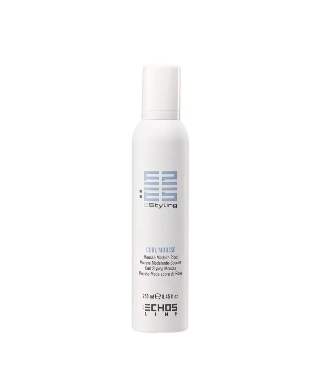 Мус-активатор для кучерявого волосся, Volume and Straight, Echosline, 250 мл