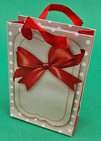 Пакет подарунковий паперовий МІНІ 8*12*3.5 арт27 (12 шт)