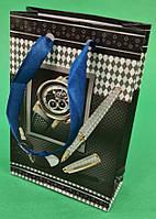 Пакет подарунковий паперовий МІНІ 8*12*3.5 арт34 (12 шт)