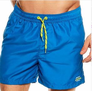 Мужские пляжные шорты плавки голубые  Henderson Kite