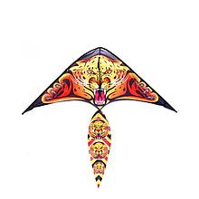 Воздушный змей M 2893 ткань 100 см  (Леопард)