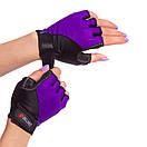 Жіночі рукавички для фітнесу Zelart 3787, розмір XS ( 14-16 см), фото 2