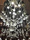 Люстра декоративна кришталева каскад на 6 лампочок 3158-6, фото 3
