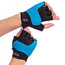 Жіночі рукавички для фітнесу Zelart 3788, розмір M (18-20 см), фото 2