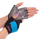 Жіночі рукавички для фітнесу Zelart 3788, розмір M (18-20 см), фото 3