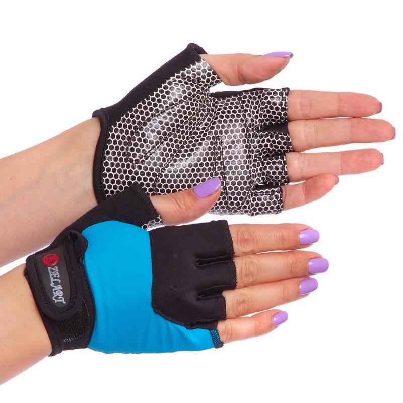 Жіночі рукавички для фітнесу Zelart 3788, розмір M (18-20 см)