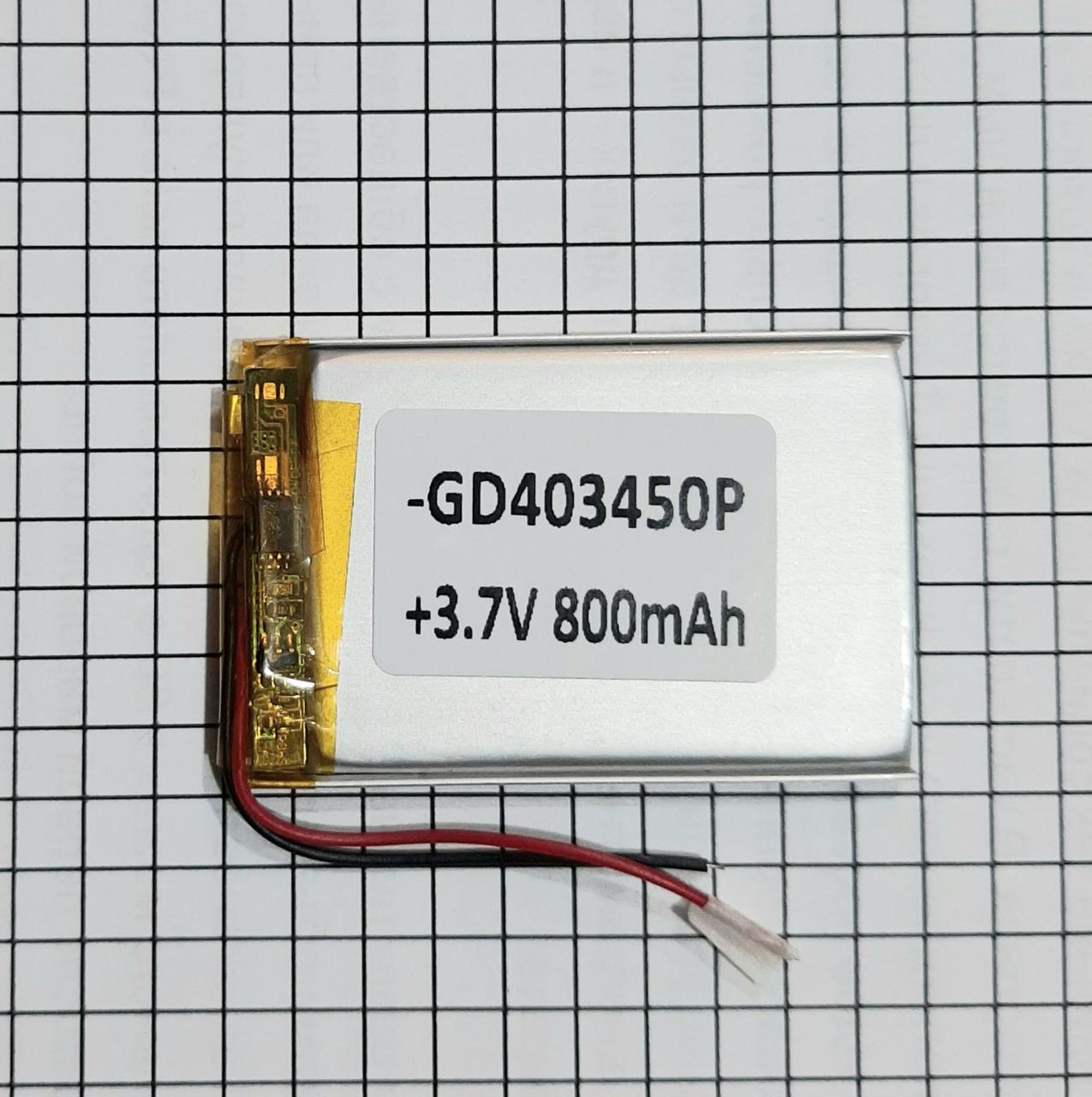 Литий полимерный аккумулятор 043450 800mah
