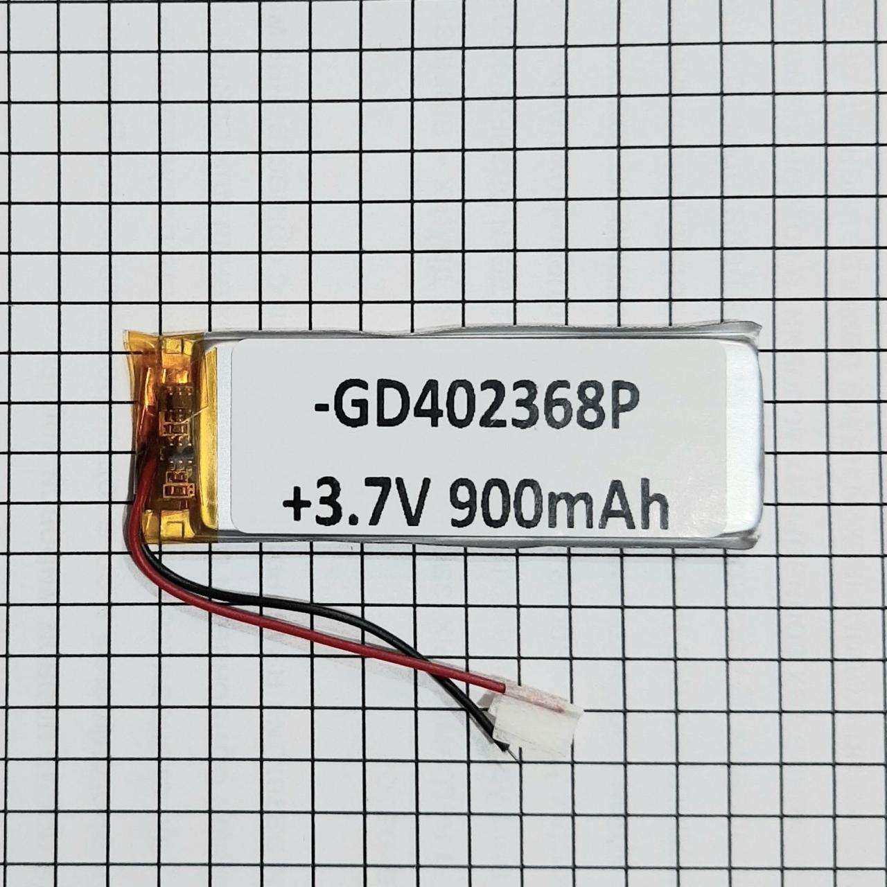 Літій-полімерний акумулятор 042368 3.7 V 900mah