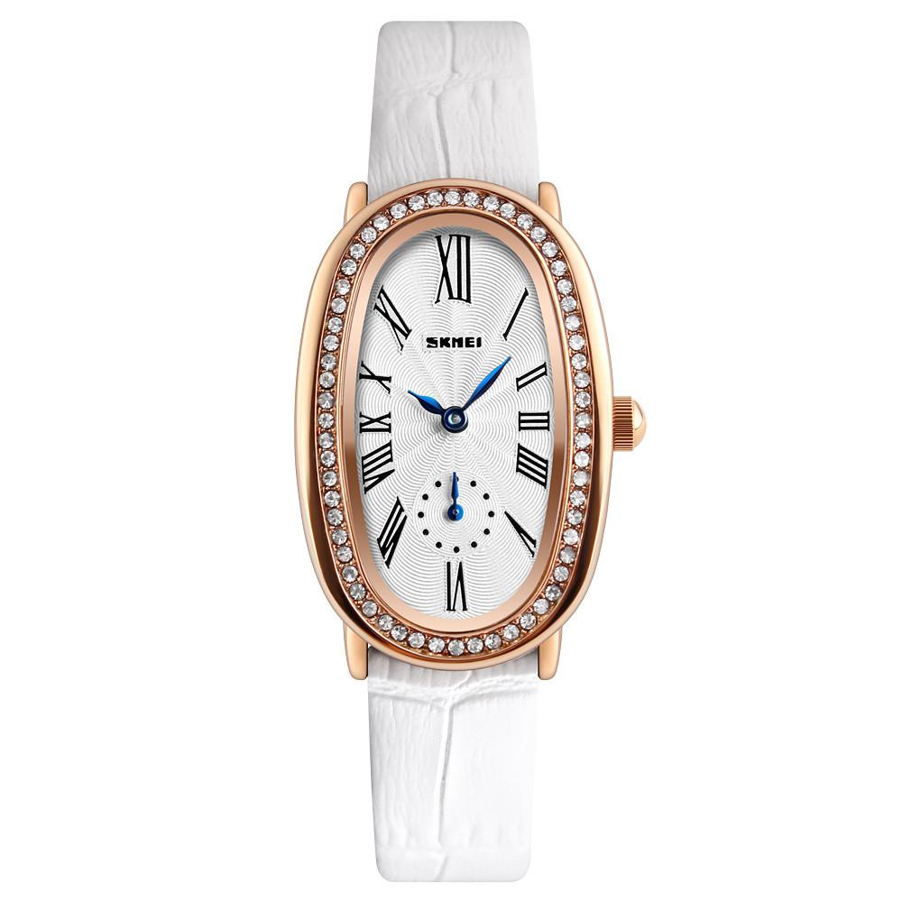 Skmei 1292 elegant білі жіночі класичні годинник