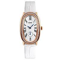 Skmei 1292 elegant білі жіночі класичні годинник, фото 1