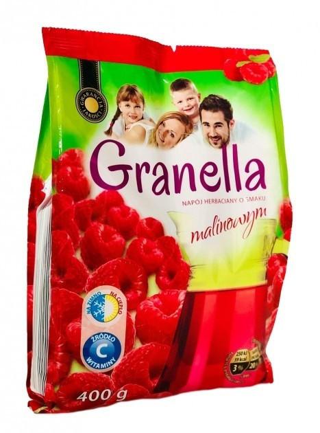Чай гранулированный со вкусом малины растворимый чай Granella  400г, Польша