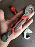 Универсальный разводной гаечный ключ Snap N Grip Original 2 шт в комплекте, фото 6