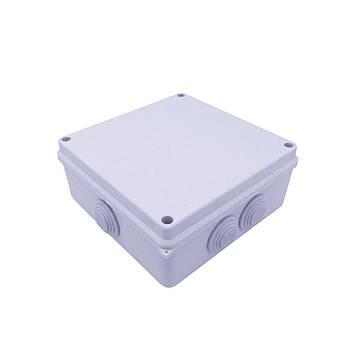 Коробка монтажная АВАТАР 200 х 200 х 80 мм наружная белая