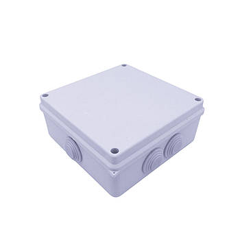Коробка монтажная АВАТАР 200 х 155 х 80 мм наружная белая