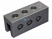 Кондуктор П-образный для конфирматов с упором 25-50-75мм х 5мм под ДСП 16мм