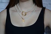 Ожерелье жемчужное Кольца профиль