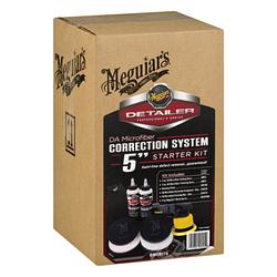 Набор для коррекционной полировки Meguiar's DMCKIT5 Detailer Microfiber Correction System 5 Starter Kit