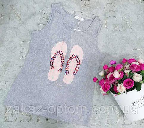 Майка женская оптом (M/L) Китай 7711-75034, фото 2