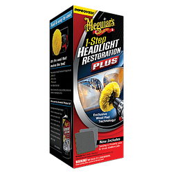 Набор для восстановления фар Meguiar's G1900K One-Step Headlight Restoration Plus Kit