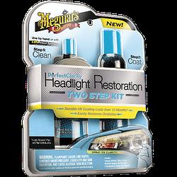 Набор для восстановления и защиты фар Meguiar's G2000 Perfect Clarity Headlight Restoration 2-Step Kit