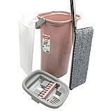 Набор для уборки Planet Tablet Mop Joy 6,5 л розовый, фото 4