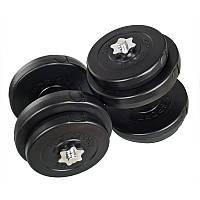 Гантелі 2х18 кг (Металевий Гриф), фото 1