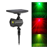 Уличный лазерный проектор на солнечной батарее 6Вт IP65, шнур USB, фото 1