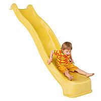 Дитяча гірка, спуск 2,2 м Бельгія Жовта, фото 1