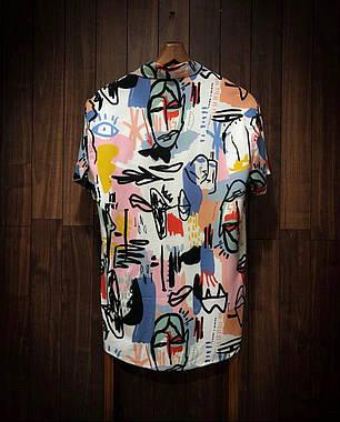 Мужская легенькая рубашка цветная, фото 2