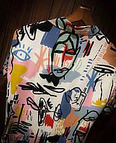 Чоловіча легенька сорочка кольорова, фото 3