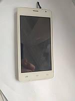 Модуль дисплей с сенсором в рамке для nomi i4510 beat б.у. оригинал