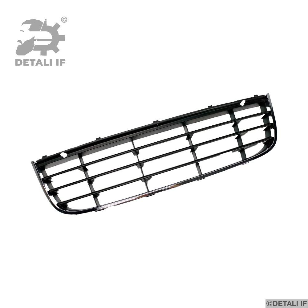 Решітка бампера Volkswagen Golf 5 1K0853677C, 1K0853677C9B9 центральна