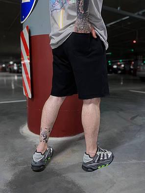 Чоловічі трикотажні шорти чорного кольору, фото 2