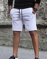 Мужские трикотажные шорты цвета хаки, фото 2