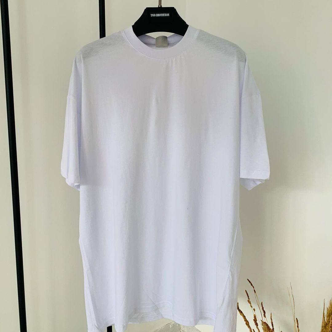 Мужская футболка oversize белого цвета