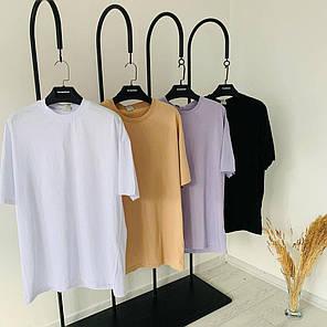Мужская футболка oversize белого цвета, фото 2