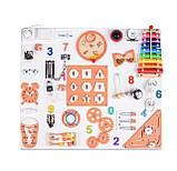 Бизиборд для дітей, розмір 60*70 см, фото 4