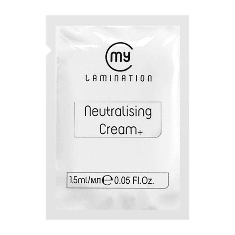 Склад №2 Brow Neutralising Cream+ My Lamination у саші 1,5 мл для ламінування брів