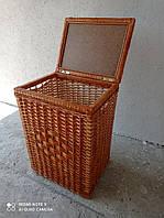 Плетеный ящик из лозы для белья 0010